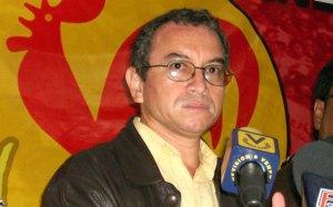 Pedro Eusse, secretario nacional del Movimiento Obrero y Sindical del PCV