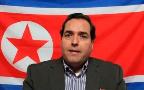 Alejandro Cao de Benós, representante en el exterior de la República Popular Democrática de Corea, RPDC