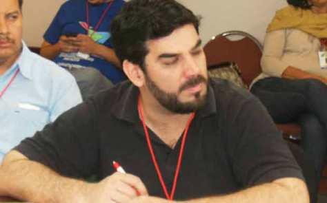 Najeed Amado, Secretario General del Partido Comunista Paraguayo