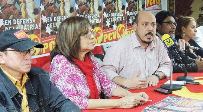 PCV Contra el extractivismo y el rentismo