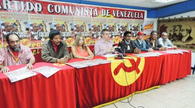 PCV: Rueda de prensa del Partido Comunista de Venezuela 19/06/2017 (Completa)
